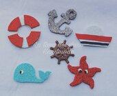 Soggetti marini decorativi.