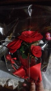 Mazzo di rose per San Valentino