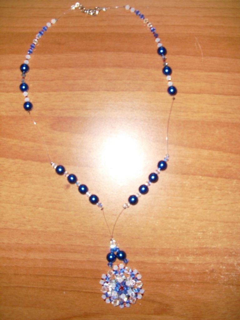 Collana blu mare