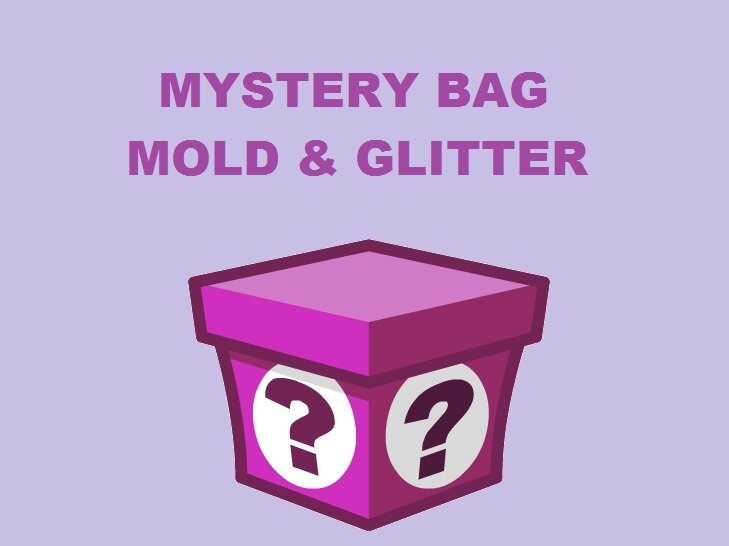 Borsa Misteriosa Stampi e Glitter + Regalo