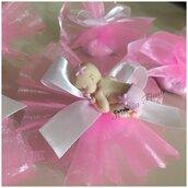 #Bomboniera con #bimba  personalizzata a mano. Vari colori  Ideale per #nascita, #compleanno o #Battesimo.