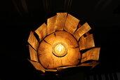 La Torre - lampada in legno