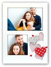 Cornice fotografica portafoto Arisa 2Q San Valentino con cuori