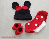 Costume Minnie uncinetto