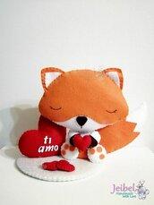 volpe san valentino, gift, regalo, amore, love