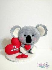 koala, san valentino, amore, gift, amore