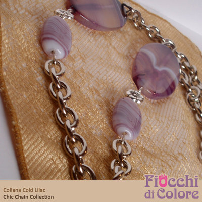 Cold Lilac Necklace