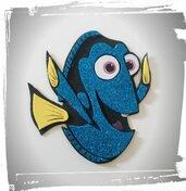 DORY Decorazione per torte finte in gomma crepla  tema Nemo