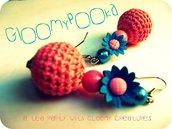 [ The Crochet Net Earrings ]