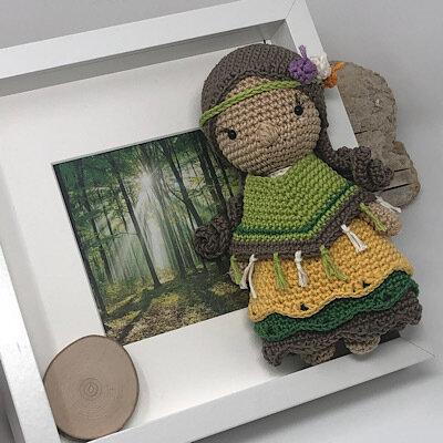 Luty Artes Crochet: Quadros de amigurumi para quarto infantil ... | 400x400