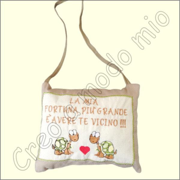san valentino : cuscinetto da appendere