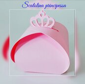 Scatoline porta confetti principessa