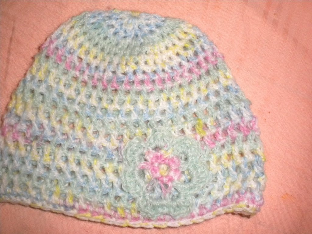 cappellino bimba- baby cap