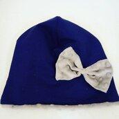 cappello in felpa e pile