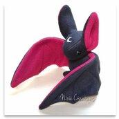 Pupazzo Sognastrello Nero Bordeaux - Fanta Pets by Nixie Creations