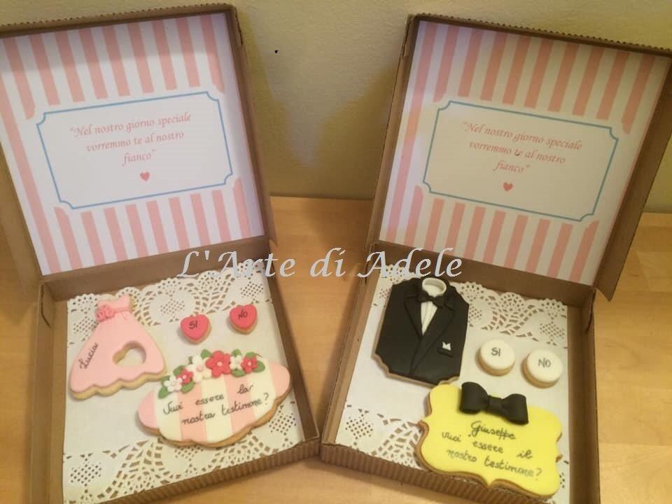 Biscotti Decorati Testimoni nozze