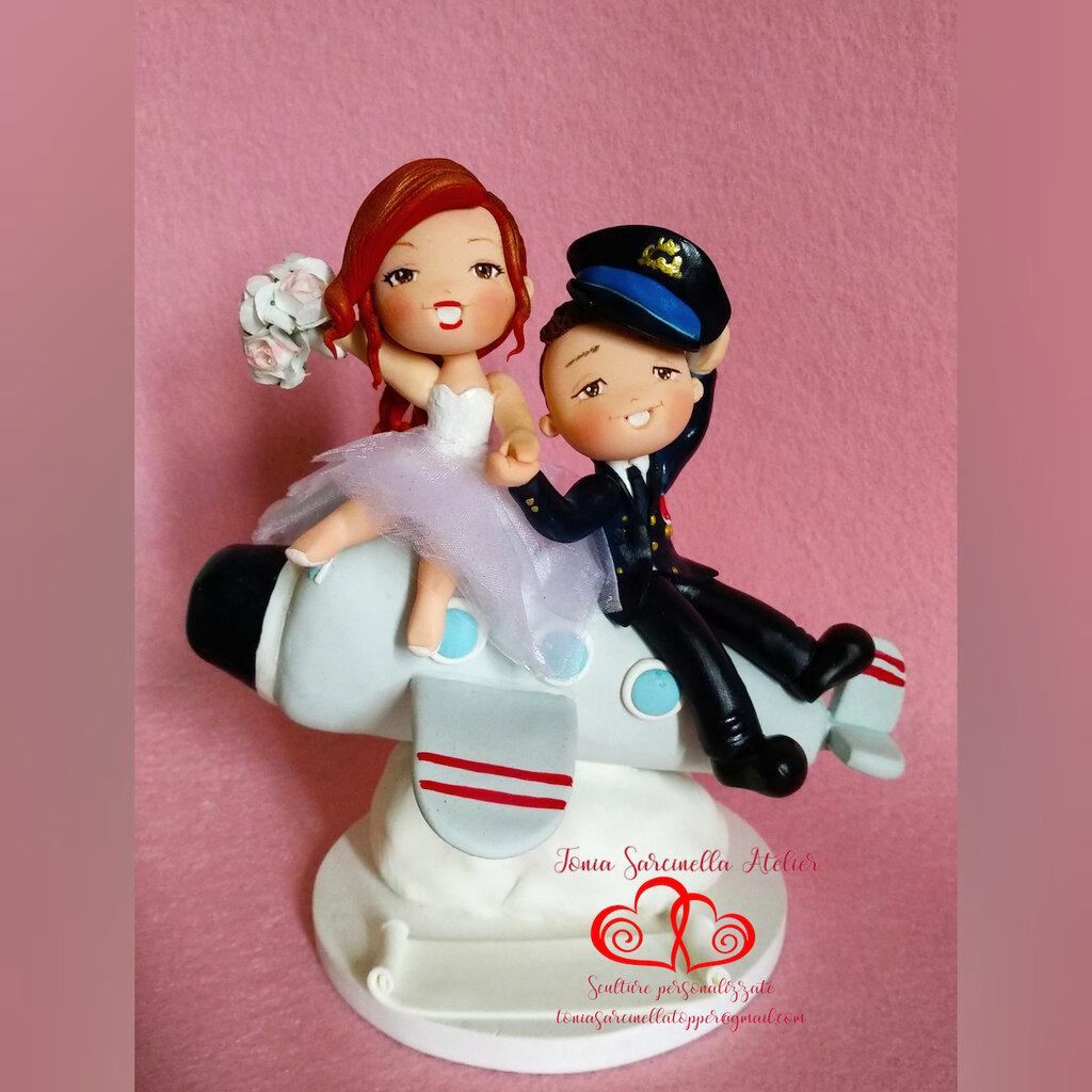 Sposi su aeroplano