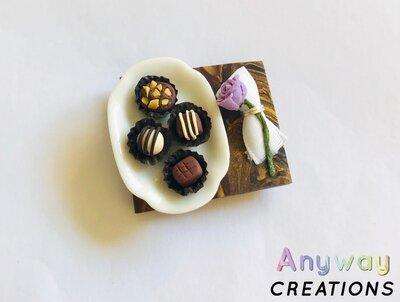 Calamita di cioccolatini fatta a mano