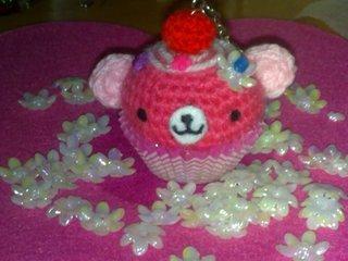 Cupcake bear Amigurumi