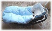Sacco a pelo termico per ovetto/cesta/seggiolino/passeggino/sacco nanna