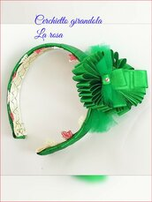 Cerchietto bimba verde