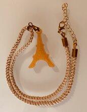 Collana con ciondolo Tour Eiffel oro