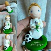 Per la Prima Comunione di un piccolo calciatore