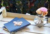 Farfalla artigianale juta dimensione piccola
