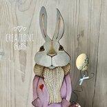 Coniglio in legno  By Creazioni GiaRóⒸ