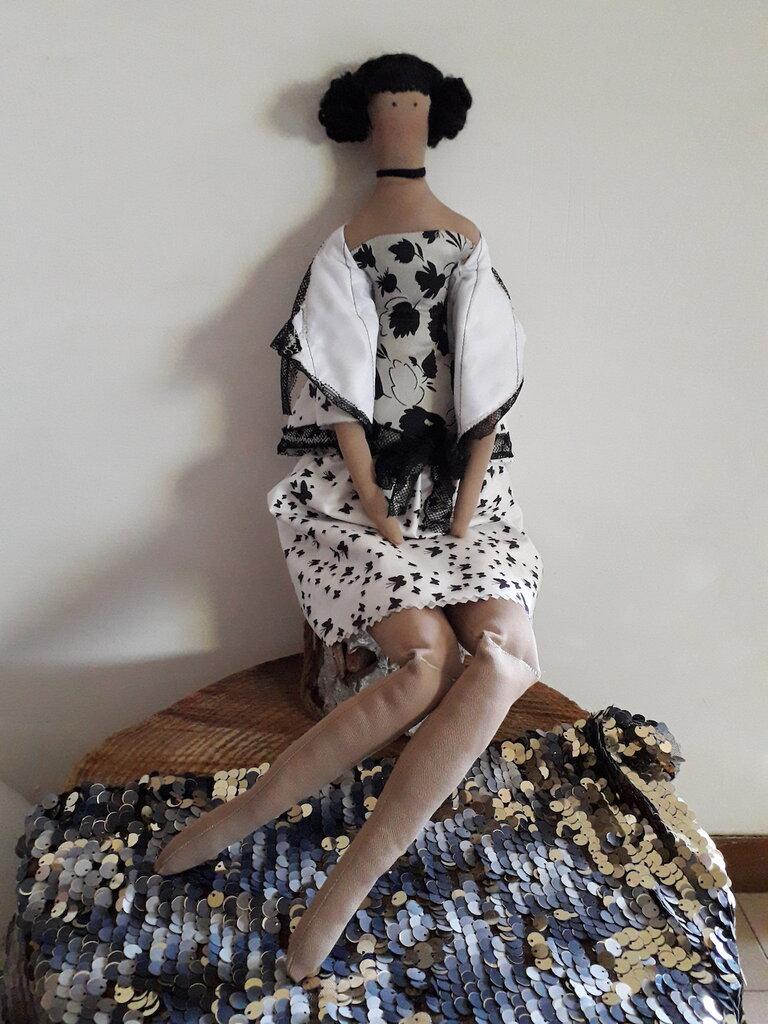 Bambola di stoffa Tilda