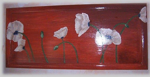 Quadro white flowers