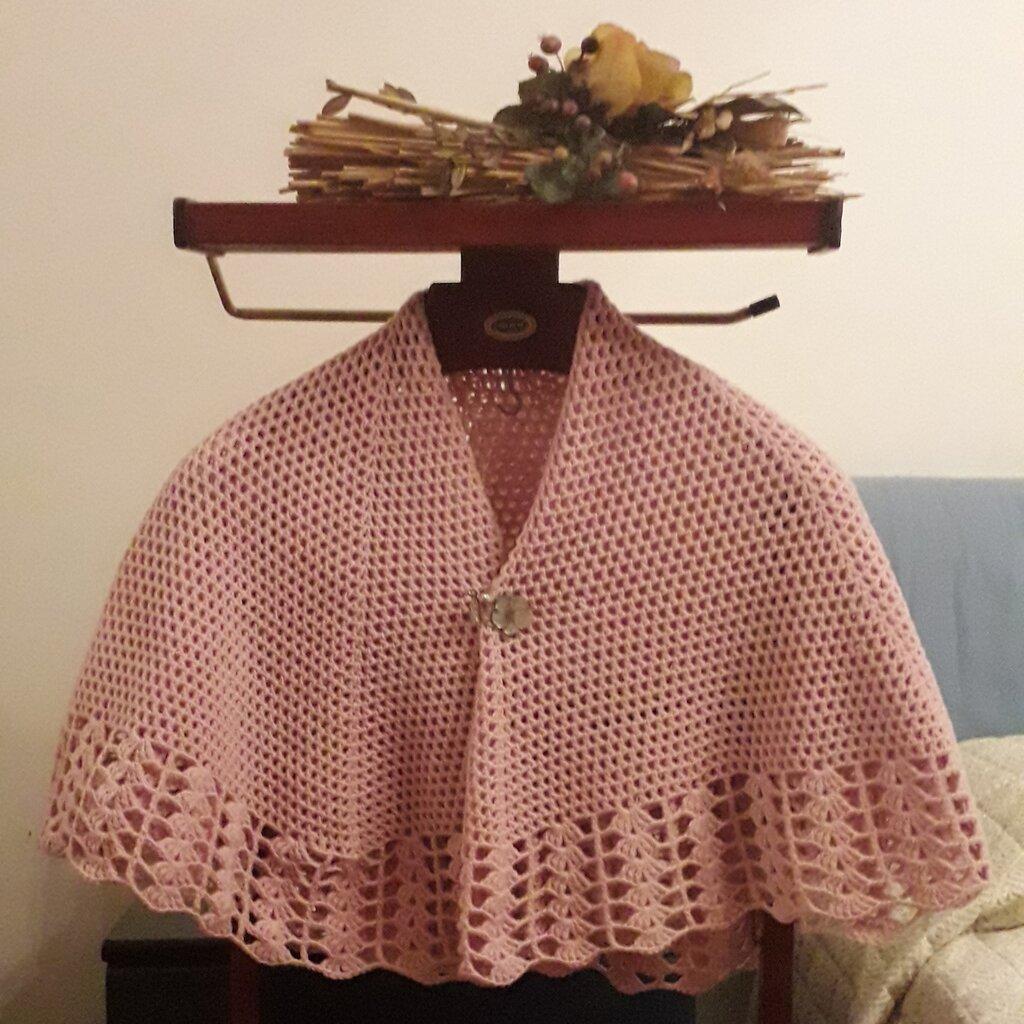 """scialle """"mantellina della nonna"""""""