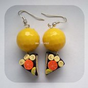 YELLOW CAKE earrings