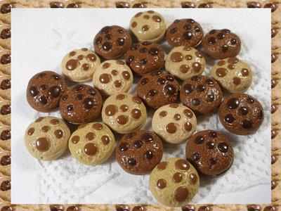 20 biscottini in fimo