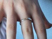Fascetta in argento, anello a fascia in argento, anello in argento, regalo anniversario, idea regalo fidanzata, regalo amore