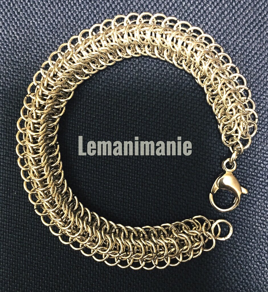 Bracciale chainmail dragonback