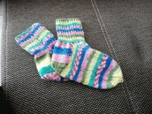 calzini multicolor per bambini
