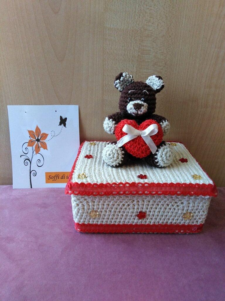 Scatola regalo orso