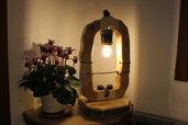 Rinascita - lampada in legno