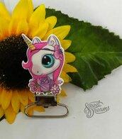 Clip Unicorno rosa