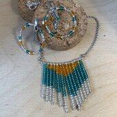 Collana Boho di perline