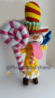 Peluche ispirato a Perospero- One Piece - Big Mom pirates