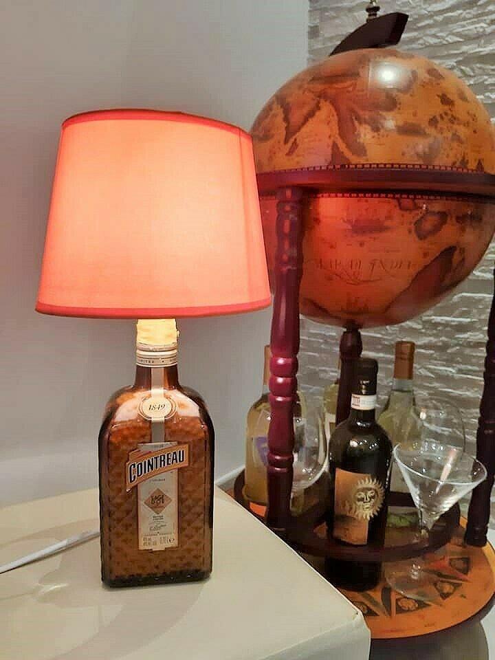Lampada Cointreau arancio