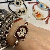 Braccialetti personalizzati di perline