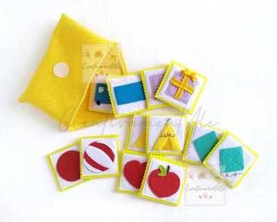 2 in 1 - Gioco Memory e appaiamento Montessori