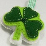 Trifoglio Irlandese portafortuna -portachiavi