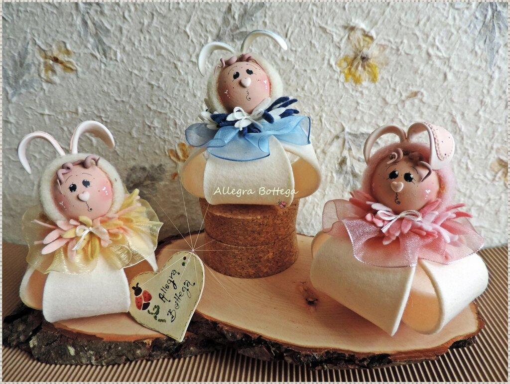 Cartamodello coniglietti bombolosi