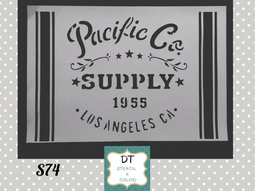 S74 label Pacific