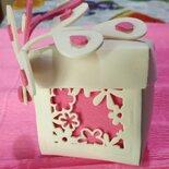 Bomboniere segnaposto matrimonio scatola portaconfetti