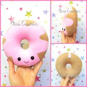 Pupazzo Ciambella Fragola - Kawaii Sweet Food Plush